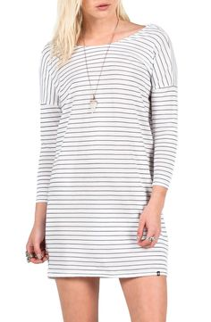 This casual striped dress from Volcom is sure to be a spring staple.