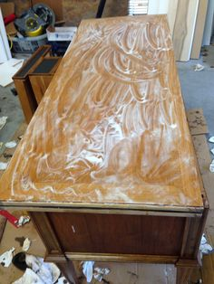 use barkeepers friend to remove water stains from wood via design dump