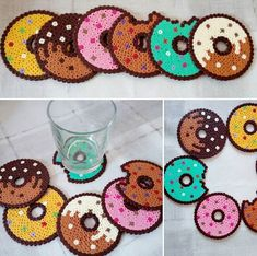 hama beads Learn how to make perler just like this! The perfect accessory for any rave or festival! You can learn more if you click! Perler Bead Designs, Perler Bead Templates, Hama Beads Design, Diy Perler Beads, Perler Bead Art, Pearler Beads, Fuse Beads, Hama Beads Coasters, Diy Perler Bead Coaster