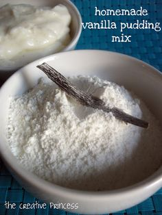 DIY homemade vanilla pudding mix - need to try!