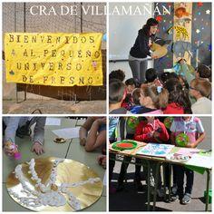 Actividades del Día del Libro. CRA de Villamañán, Villamañán. León