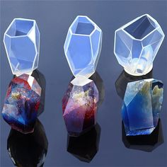 Silicone Diy Ornament Crystal Mold Jewelry Making Resin Casting Hand Craft #ebay #Home & Garden