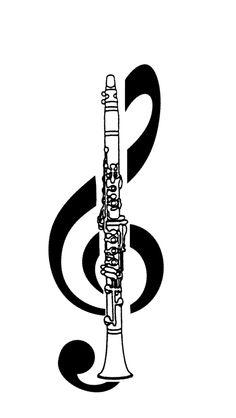 clarinet treble clef