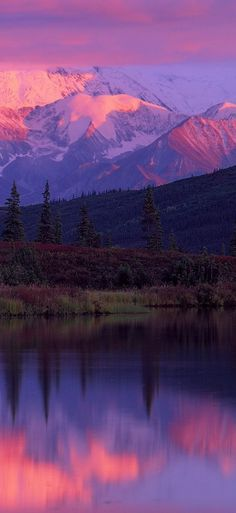 Wonder Lake ~ Denali National Park ~ Alaska