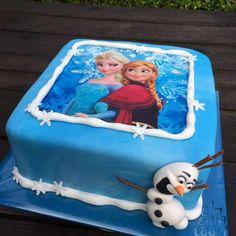 Frozen taart met Elsa, Anna en Olaf | Simsalataart 06 53751516