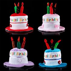 Children's Day  props supplies decorative children's birthday cake hat performance dress props Novelty toys