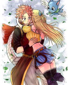 Fairy Tail Natsu x Lucy - Nalu (by leons7)