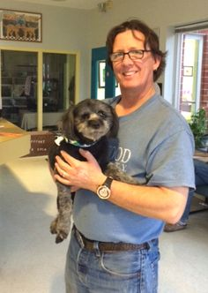"""Special needs animals are among the most overlooked for adoption, and this was particularly the case for a triply-disabled dog in a Virginia shelter. Luckily for this pup, a retired #CoastGuard veteran – or """"Coastie"""" – was up to the challenge."""