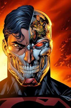 #Superman #Fan #Art. (Cyborgue Superman) By: Ivan Reis. (THE * 5 * STÅR * ÅWARD * OF: * AW YEAH, IT'S MAJOR ÅWESOMENESS!!!™)[THANK U 4 PINNING!!!<·><]<©>ÅÅÅ+(OB4E)