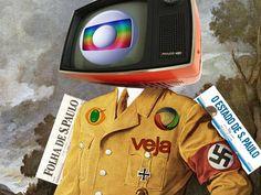 """NÃO SEJA UM MIDIOTA ÚTIL!         INFORME-SE !   REFLITA!   REAJA!   OPINE !   PARTICIPE!   COMPARTILHE!      Aos jornalistas liberdade de expressão, ao cidadão direito de informação.  Aos artistas do Brasil:  esqueçam o sonho de 'quando eu crescer quero entrar pra grobo"""".  Os artistas brasileiros devem começar a pensar a vida profissional por si mesmos...com independência, devem esquecer as tetas podres, fedidas da tv gloebels... que coisa mais brega os artistas brasileiros, as tais…"""