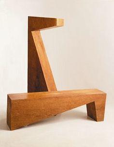 Chista Furniture: pedestal/bench.