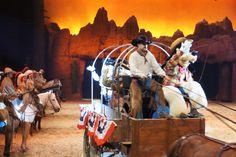 Cowboy Goofy at Buffalo Bills Wild West Show. Disneyland Paris, Euro Disney. @YoungDumbAndFun