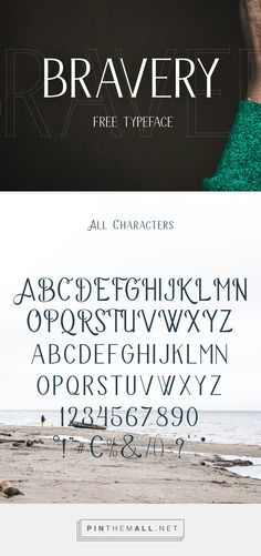 New Superb Free Fonts for Designers | Bravery Free Font | Graphic Design Junction - created via https://pinthemall.net