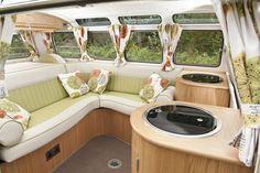1964 Volkswagen Camper 21 Window Samba Interior 2