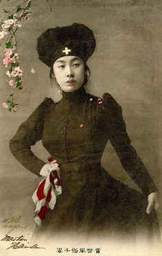 japanese nurse, 1905