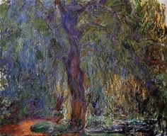 urgetocreate:  Claude Monet, Weeping Willow (1919)