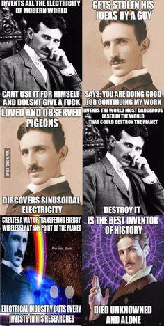 Cool Science Facts, Fun Facts, Life Science, Cs Lewis, Nikola Tesla Quotes, Nicola Tesla, Tesla Inventions, Counting Stars, Kid Cudi