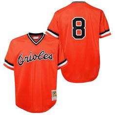 Baltimore Orioles Cal Ripken Jr. Authentic 1988 BP Jersey by Mitchell & Ness - MLB.com Shop