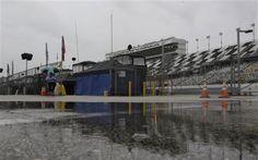 Daytona 500 rain delays - what did you do?