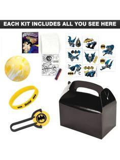 Deluxe Batman Favor Kit - Batman Party & Party Supplies