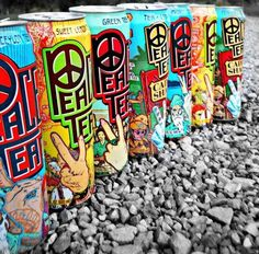 Best drink in the whole entire world-peace tea <3