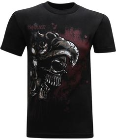 86d24980a Conquer Aztec Eagle Skull Mexican Latino Men's T-Shirt Eagle Skull, Latino  Men,