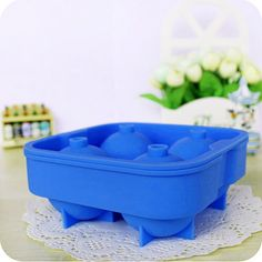 New Whiskey Ice Cube Ball Maker Mold Sphere Mould Party Tray Brick Round Bar Silicon New