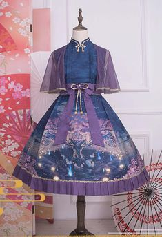 LolitaWardtobe - Bring You the latest Lolita dresses, coats, shoes, bags etc from Trustworthy Taobao indie Brands. We never resell Lolita items from untrustworthy Taobao stores. Harajuku Fashion, Kawaii Fashion, Lolita Fashion, Pretty Outfits, Pretty Dresses, Beautiful Outfits, Lolita Cosplay, Quirky Fashion, Japanese Outfits