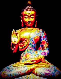 Buddha represents the Art of Being within each of us. The Buddha is in every being of every race, every color, every creed ~ Lets Be Peace  Lets Be Love  Lets Try Love
