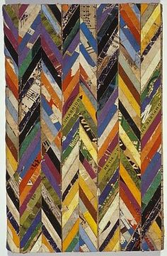 Lance Letscher - Syncopated spliced colour blocking. Intuitive work for methodical hands.