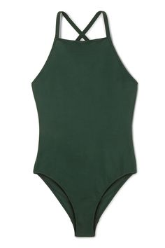 Weekday image 1 of Atlantis Swimsuit in Green Bluish Dark