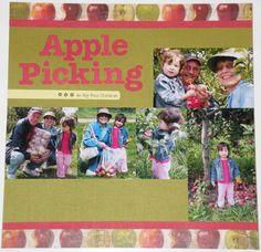 Katie's Nesting Spot: Apple Picking Layout
