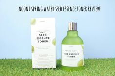 Nooni spring water seed essence toner review