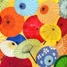 street art   umbrellas @ japan town in san francisco