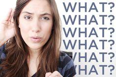 """Falar só """"- what?"""" quando você não entende o que alguém está falando pode soar rude em muitos casos! Neste vídeo eu explico umas opções que você tem pra expr..."""