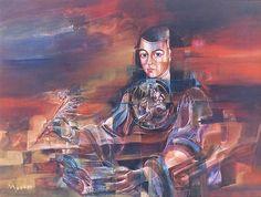 Painting of Sor Juana Ines de la Cruz