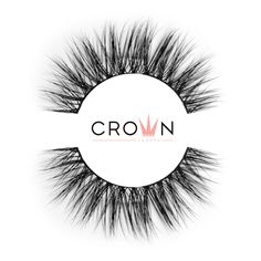 Crown Lashes Mink Fake Eyelashes in style Desire Fake Lashes, Eyelashes, Natural Eyes, Super Natural, Latex Free, Mink, Makeup Yourself, Cruelty Free, Makeup Looks