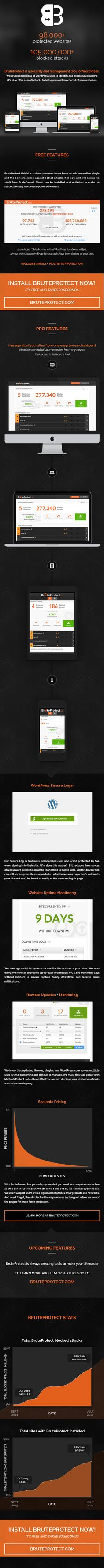 BruteProtect: WordPress Protection & Management by Parka LLC. #WordPress #security #management #software