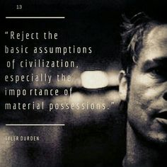 Fight Club Top Quotes and Trailer best quotes Brad Pitt Favorite Movie Quotes, Best Quotes, Fight Club Quotes, Fight Club 1999, Marla Singer, Jolie Phrase, Tyler Durden, Film Quotes, Good Movies