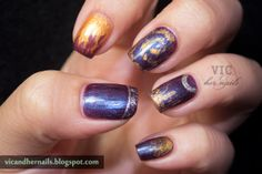 Vic and Her Nails: December N.A.I.L. - Theme 3: Winter Solstice (Catch Up!) Nail Art