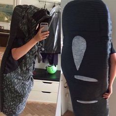 Halloween outfit on point 😂 Would you go out wearing a Yeezy Boost sneaker  outfit?