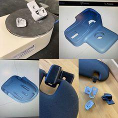 Häikäisysuojan sarana rikkoutunut. Rikkinäinen 3D-skannattiin. Osat parsittiin kasaan Rhinossa ja 3D-tulostettiin ASA:sta. Asana, Skateboard, 3d, Sports, Skateboarding, Hs Sports, Skate Board, Sport, Skateboards