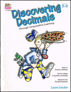 Free sample activities from Laura Candler's book, Discovering Decimals Through Cooperative Learning
