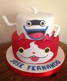 Yo Kai Watch Cake! By Cakesbyme