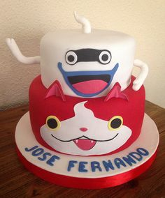 Yo Kai Watch Cake! By Cakesbyme