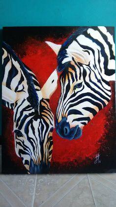 CEBRAS ART por JoanArt - Animales | Dibujando.net Zebra Painting, Zebra Art, Canvas Painting Tutorials, Diy Canvas Art, African Paintings, Animal Paintings, Arte Pop, Wildlife Art, Horse Art