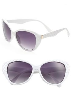 Quilted Sunglasses | Nordstrom