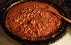 Une sauce à spag à la mijoteuse, c'est tellement pratique.