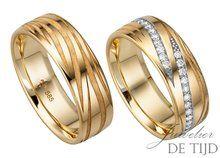 Diamant trouwringen