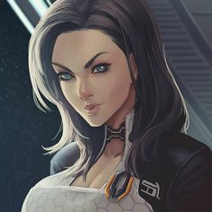 Miranda Lawson for cobaltxci by MaHenBu on DeviantArt #MassEffect #Gaming